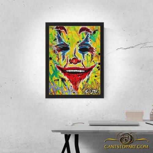joker framed